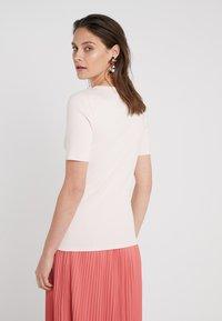 J.CREW - SLIM PEFECT ELBOW SLEEVE TEE - Basic T-shirt - subtle pink - 2