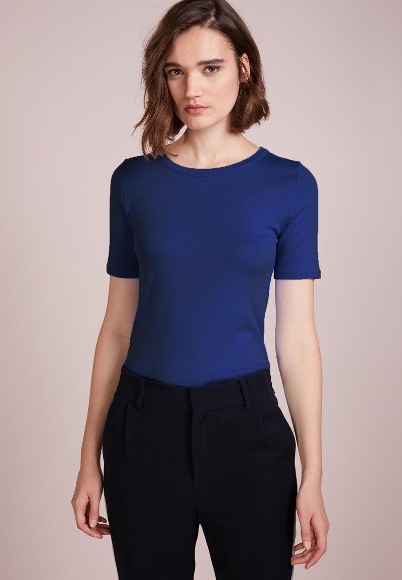 J.CREW - SLIM PEFECT ELBOW SLEEVE TEE - T-Shirt basic - shale blu