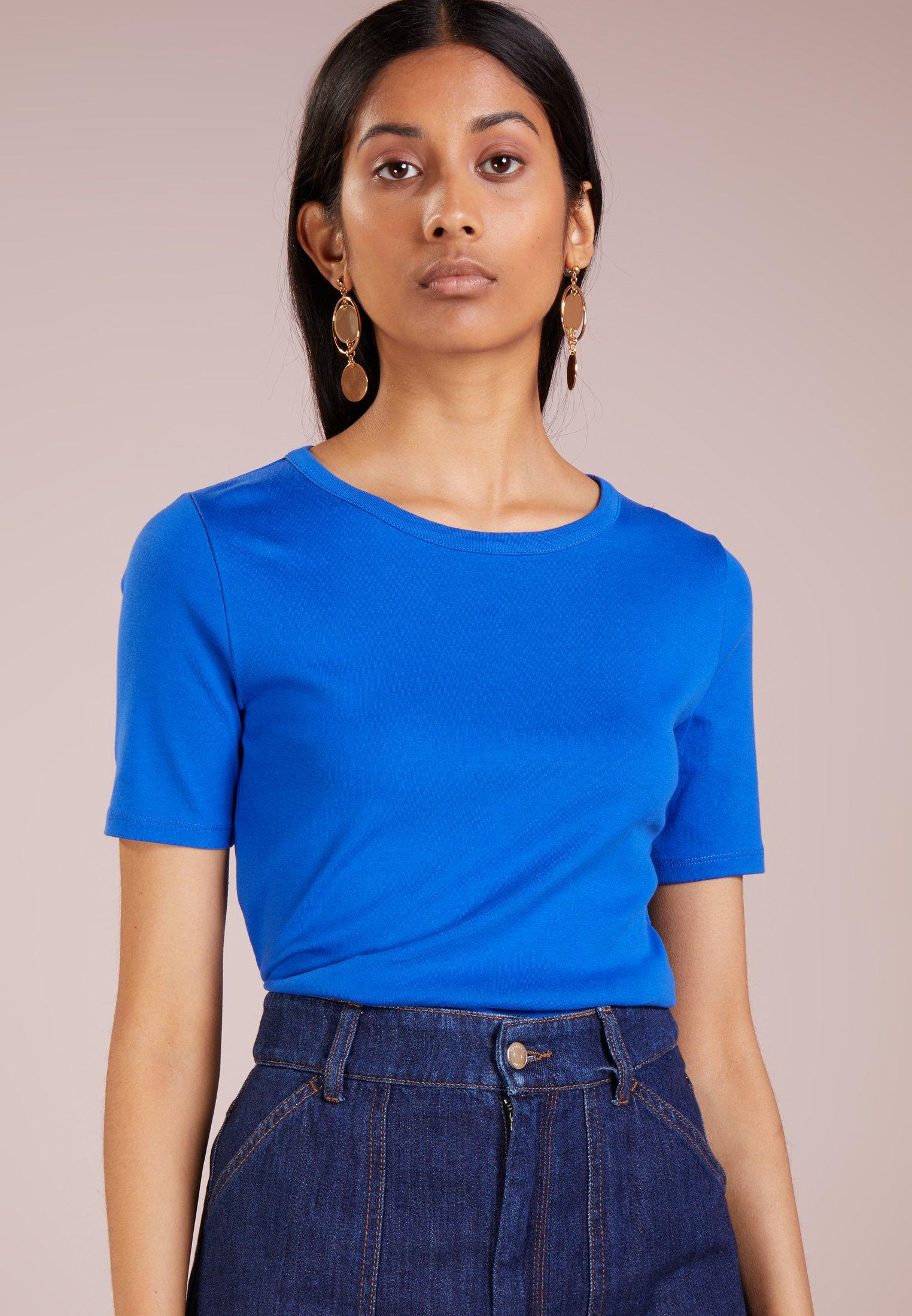 TeeT crew Slim shirt J Basique Brilliant Pefect Elbow Sleeve Sapphire MqSzVpUG