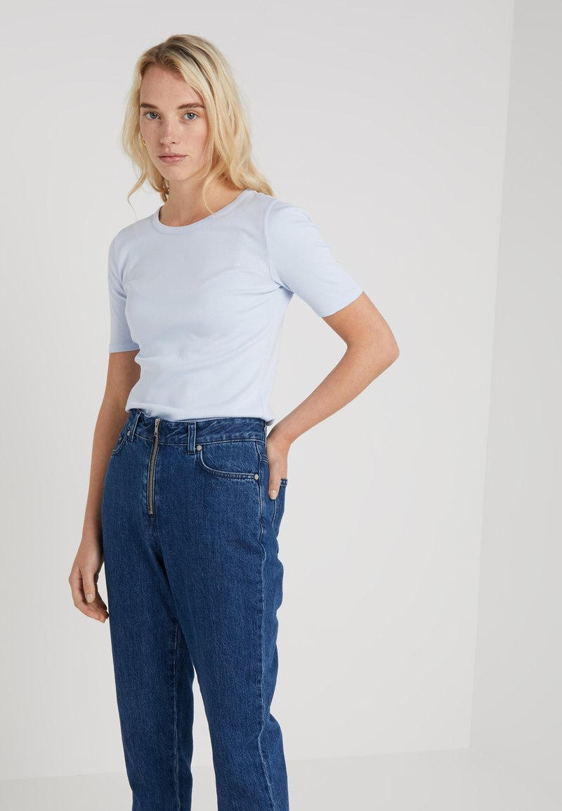 J.CREW - Print T-shirt - light blue