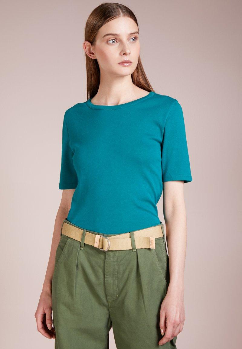 J.CREW - SLIM PEFECT ELBOW SLEEVE TEE - T-Shirt basic - vivid jade