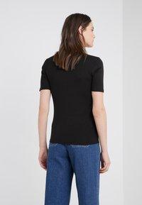 J.CREW - SLIM PEFECT ELBOW SLEEVE TEE - T-shirt basic - black - 2