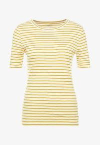J.CREW - PERFECT FIT TEE  - T-shirt imprimé - rich gold/ivory - 3