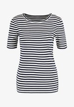 PERFECT FIT TEE  - T-shirts med print - navy/ivory