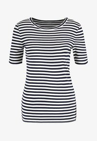 J.CREW - PERFECT FIT TEE  - Print T-shirt - navy/ivory - 4