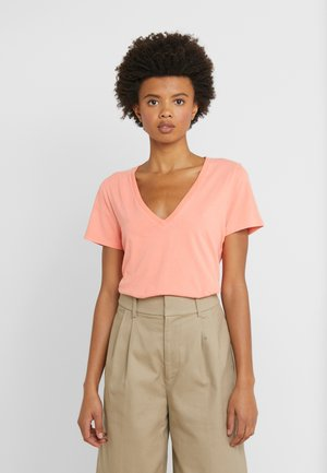 NEW TEE - Basic T-shirt - neon coral
