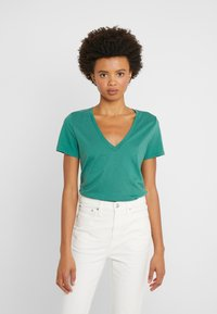 J.CREW - NEW TEE - Basic T-shirt - rugby green - 0