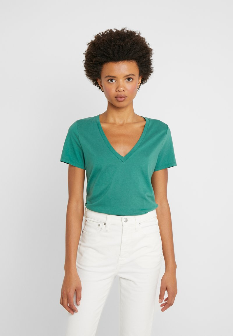 J.CREW - NEW TEE - Basic T-shirt - rugby green
