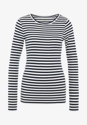 SLIM PERFECT LONG SLEEVE  - T-shirt à manches longues - navy/ivory
