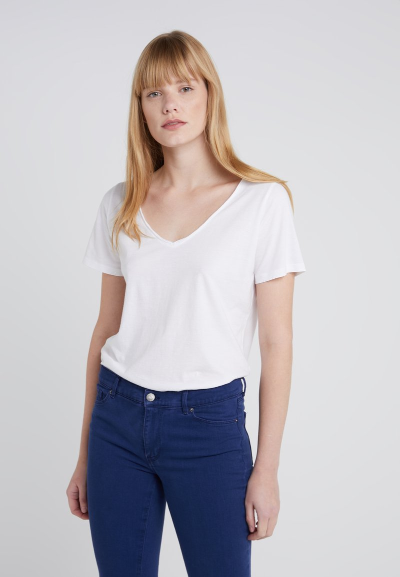 J.CREW - Basic T-shirt - white
