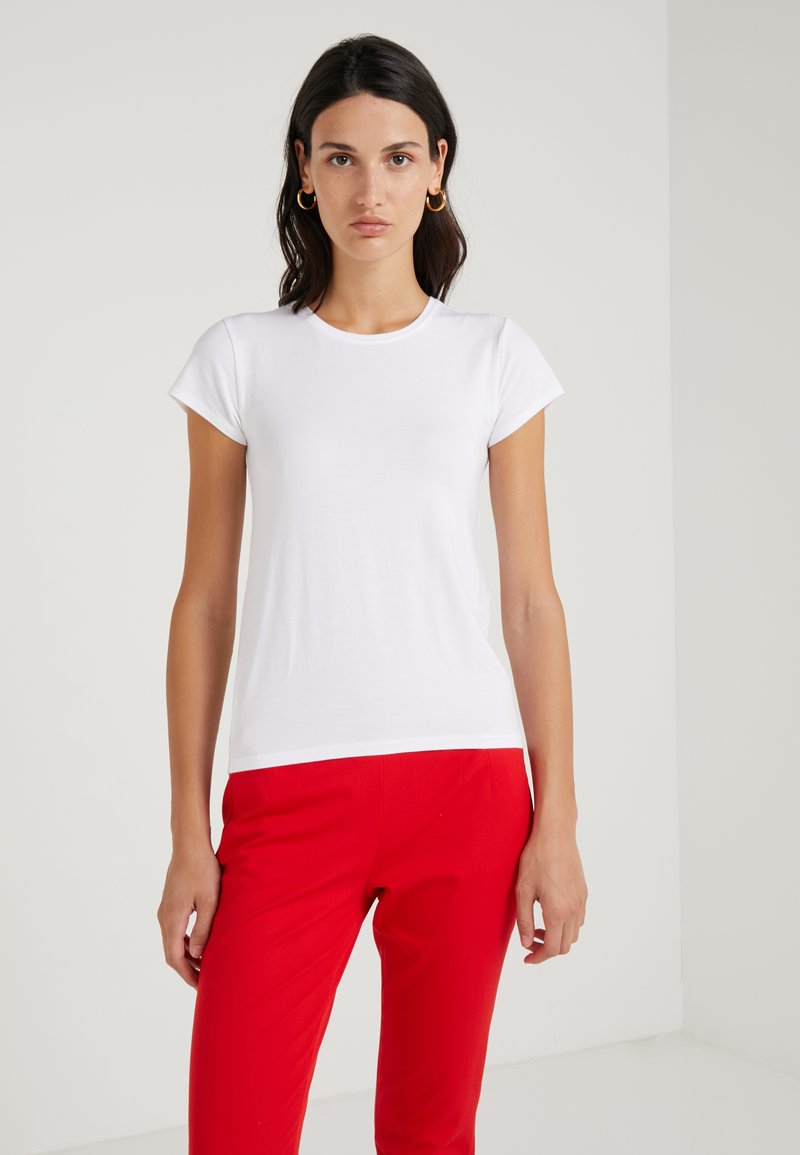 J.CREW - CREW STRETCH SHORT SLEEVE TEE - T-shirt basique - white