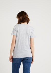 J.CREW - Print T-shirt - cloud heather - 2