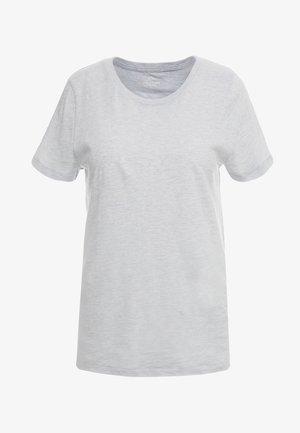 VINTAGE CREWNECK TEE - T-Shirt basic - cloud heather