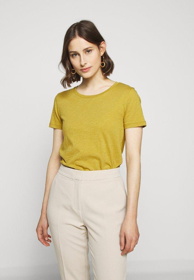 VINTAGE CREWNECK TEE - T-shirt basic - bronzed olive