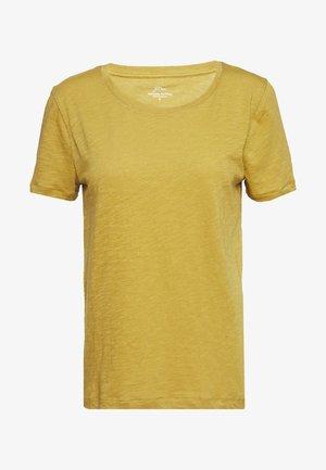 VINTAGE CREWNECK TEE - Jednoduché triko - bronzed olive
