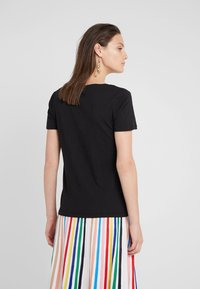 J.CREW - VINTAGE V NECK TEE - T-Shirt basic - black - 2