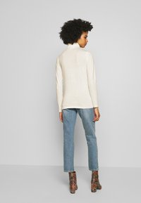 J.CREW - TISSUE TURTLENECK - Long sleeved top - ivory - 2