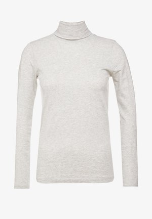 TISSUE TURTLENECK - Langærmede T-shirts - heather dusk