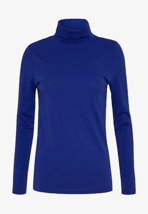 TISSUE TURTLENECK - Bluzka z długim rękawem - oxford royal