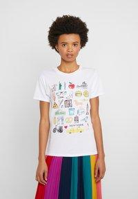 J.CREW - DESTINATION TEE - Print T-shirt - white - 0