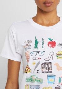 J.CREW - DESTINATION TEE - Print T-shirt - white - 5
