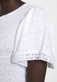 J.CREW - INSERT TEE - Print T-shirt - white - 5