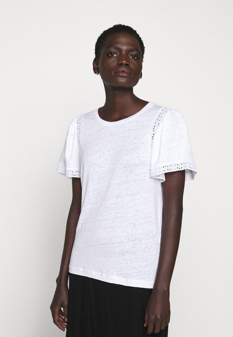 J.CREW - INSERT TEE - Print T-shirt - white