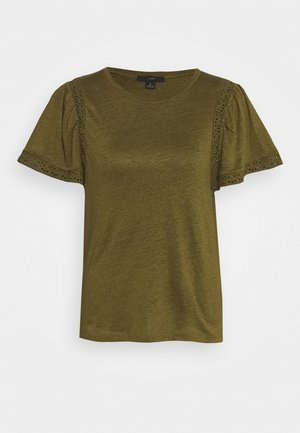 INSERT TEE - T-shirt con stampa - olive