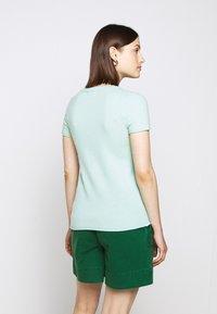 J.CREW - LEMON TEE - Print T-shirt - seaside aqua/citrus - 2