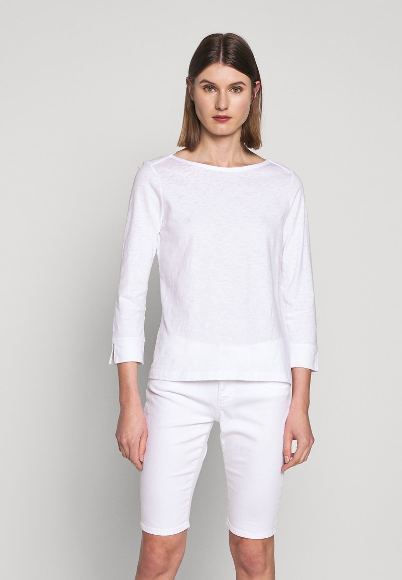 J.CREW - PAINTER - Long sleeved top - white