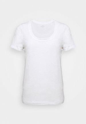 VINTAGE SCOOP - Basic T-shirt - white