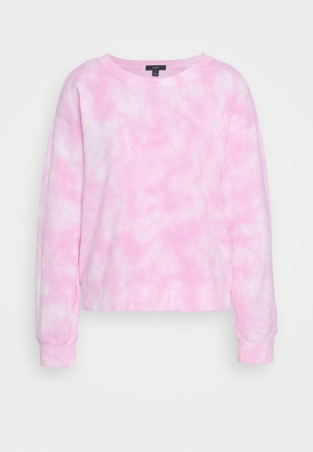 MAGIC WASH CREWNECK TIE DYE - Sweatshirt - neon azalea