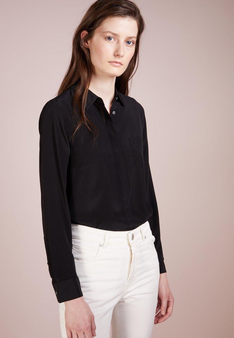 J.CREW - BUTTON UP - Button-down blouse - black