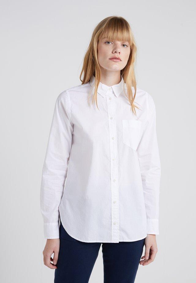 BOY POPLIN - Button-down blouse - white