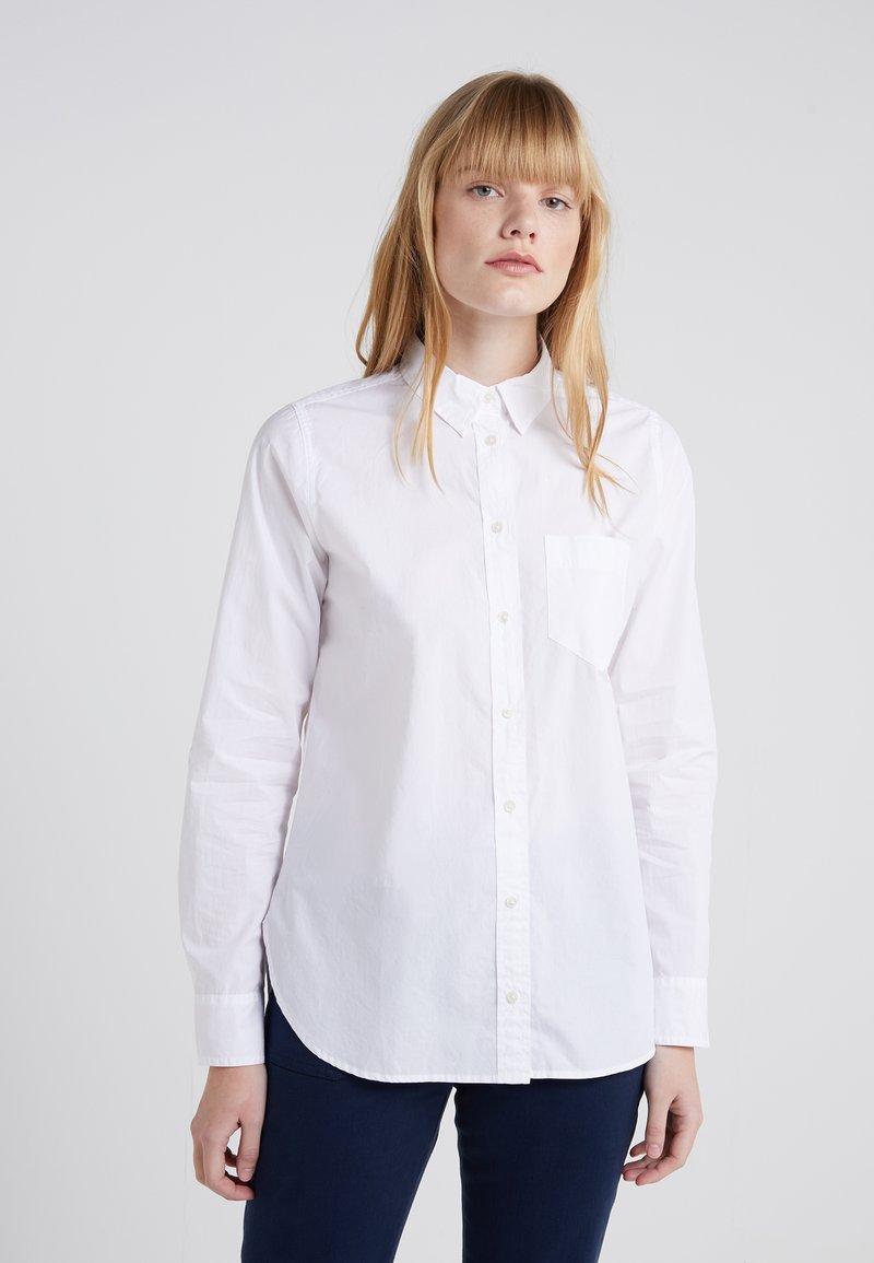 J.CREW - BOY POPLIN - Button-down blouse - white