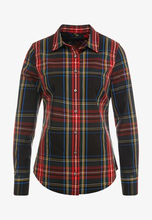 PERFECT IN STEWART PLAID SLIM FIT - Hemdbluse - red/green/multi