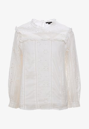 BASH TOP EMBROIDERED EYELET - Blouse - ivory