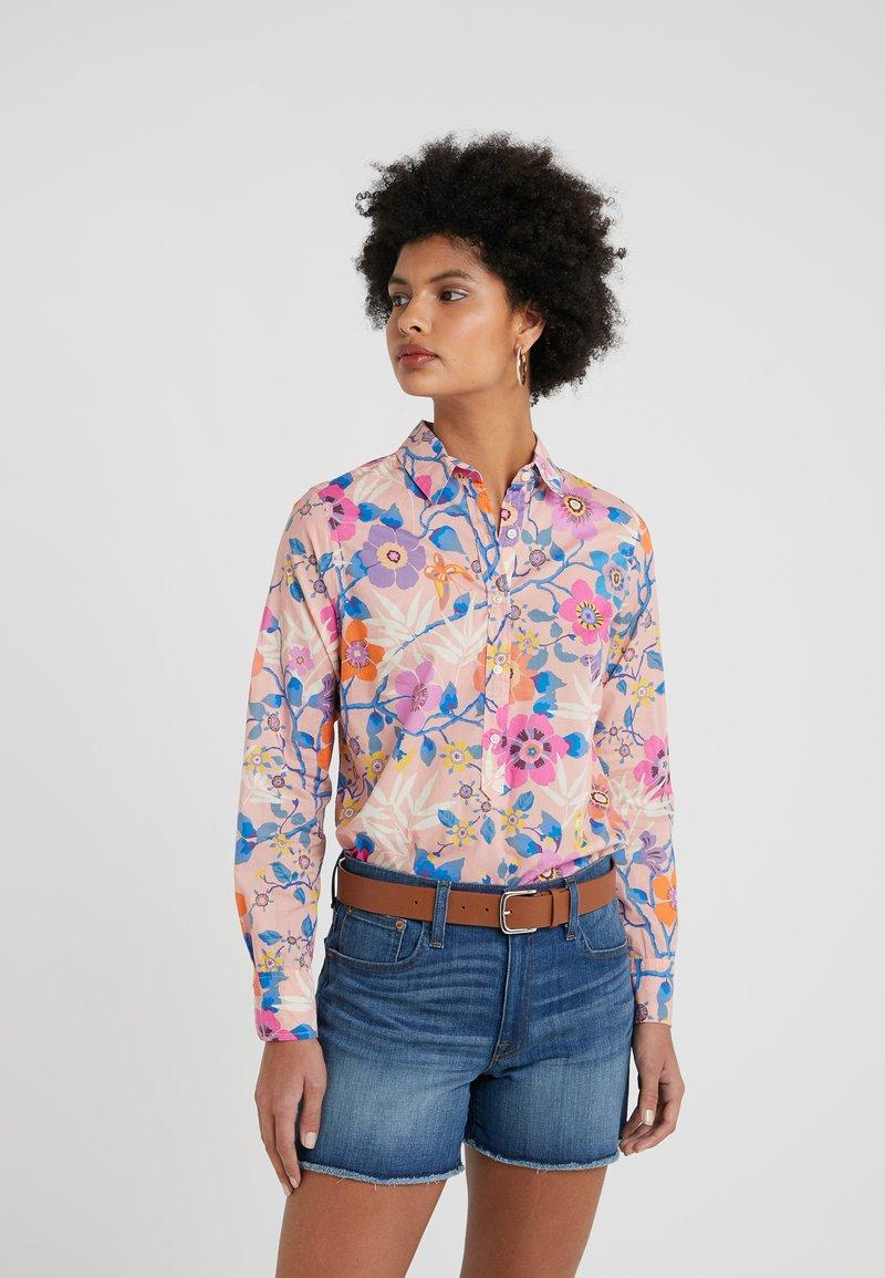 J.CREW - CLASSIC POPOVERT LIBERTY PAVILION - Button-down blouse - pink/multi
