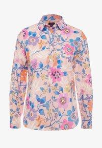 J.CREW - CLASSIC POPOVERT LIBERTY PAVILION - Button-down blouse - pink/multi - 3