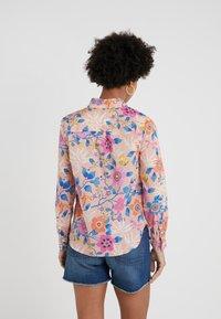 J.CREW - CLASSIC POPOVERT LIBERTY PAVILION - Button-down blouse - pink/multi - 2