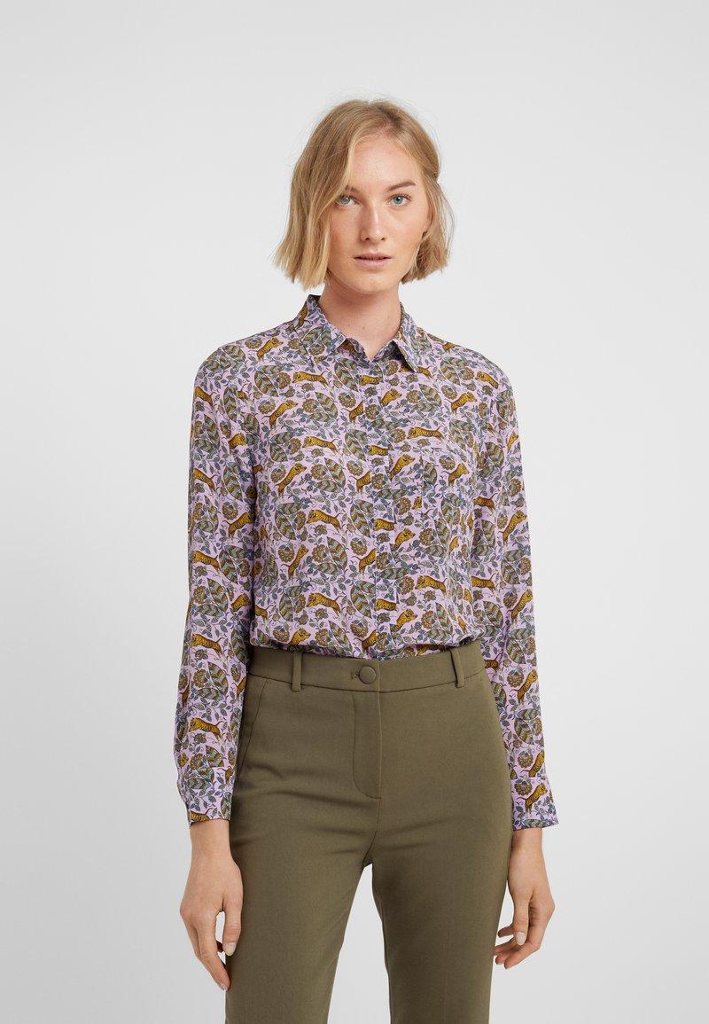 J.CREW - ROBIN TIGERS - Button-down blouse - violet