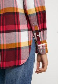 J.CREW - BOY PACEY PLAID - Button-down blouse - burgundy rose - 5