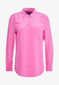 J.CREW - ROBBIE SHIRT  - Blouse - intense pink - 4