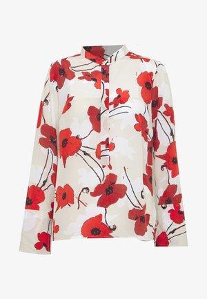 EIVISSA WELSH POPPY - Camisa - natural cerise