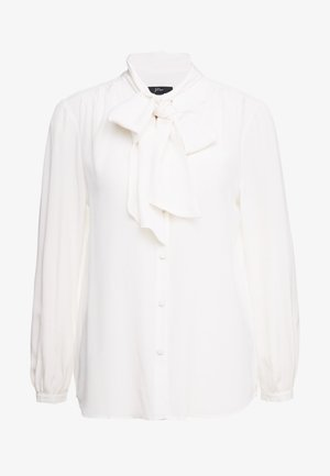 COURTNEY BOW BLOUSE - Košile - ivory