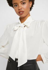 J.CREW - COURTNEY BOW BLOUSE - Button-down blouse - ivory - 5