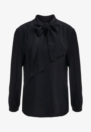 COURTNEY BOW BLOUSE - Skjorte - black