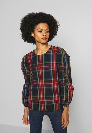 ROSARITA PLAID STEWART - Blouse - red/green/multi