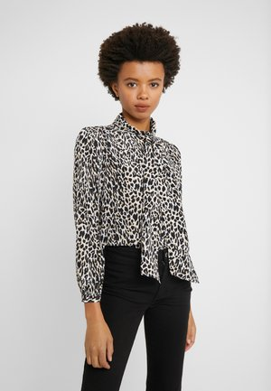 COURTNEY BOW BLOUSE LEOPARD - Blouse - natural multi