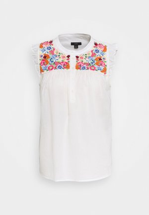 CALABRIA BLOUSE FARMERS MARKET  - Blouse - ivory